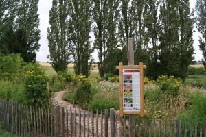 Bauerngarten im Natur- und Erlebnispark Hallgarten in Mastershausen