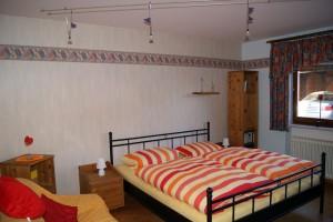 """Ferienwohnung """"HOLLiday"""" – Schlafzimmer"""