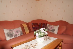 Country House – gemütliche Sitzecke im Wohnzimmer