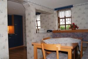 Country House – Essecke mit angrenzender Küche