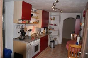 """Haus """"Simona"""" Küche und Sitzecke für 2 Personen"""