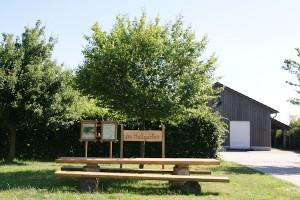 Freizeitpark im Natur- und Erlebnispark Hallgarten und Ausgangspunkt des Masdascher Burgherrenweges