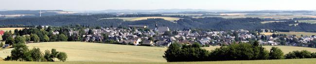 Mastershausen im Hunsrück - Blick vom Masdascher Galgenturm
