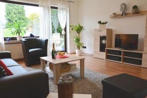 """Ferienwohnung """"Hedi"""" – Wohnzimmer mit gemütlicher Wohnkultur"""